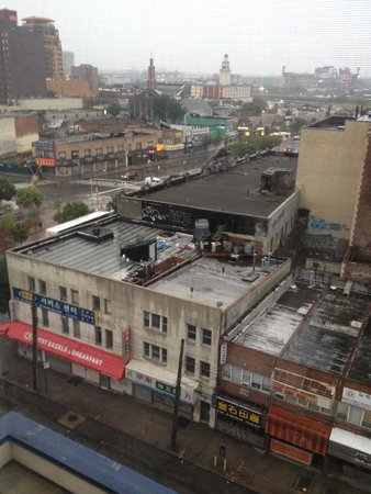 Marco LaGuardia Hotel by Lexington: View from room; Citi Field in background