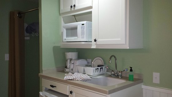 Holly Tree Resort : kitchenette