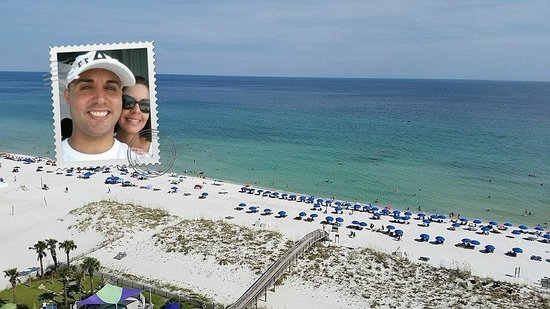 Holiday Inn Resort Pensacola Beach: Our view