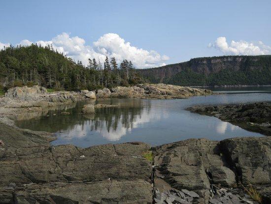 Parc National du Bic : sentier Scoggan