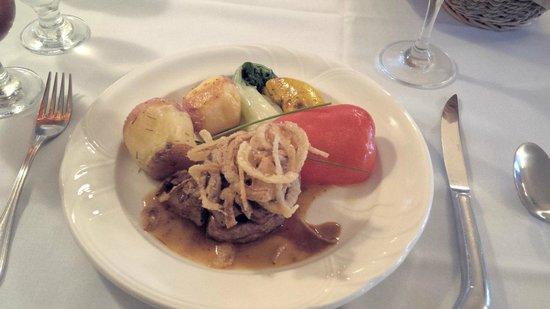 Severn Lodge : Amazing food!