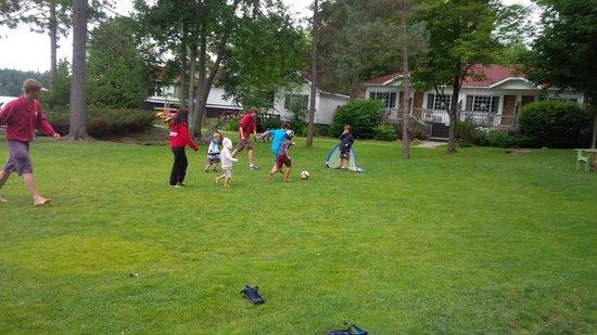 Severn Lodge: Soccer