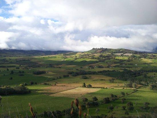 Laguna de Guatavita: Paisaje de Guatavita