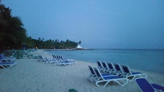 Viva Wyndham Dominicus Beach: panorama spiaggia