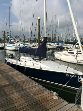 "South Coast Sailing Adventures: Training Sailboat - ""Trade Winds"""