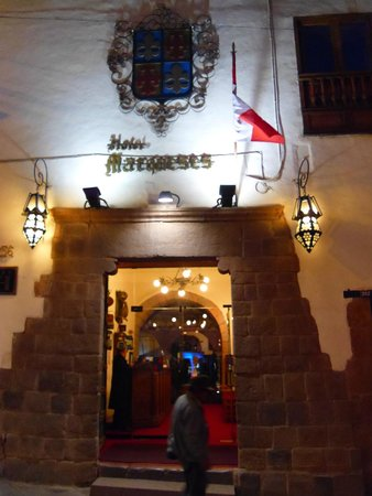 MARQUESES Boutique Hotel: Front entrance