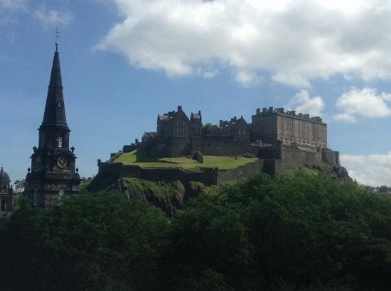 Waldorf Astoria Edinburgh - The Caledonian: view from the two double bedded room