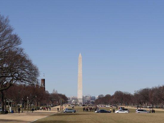 Washington Monument : vista de lejos