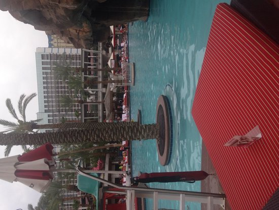 Flamingo Las Vegas Hotel & Casino: GO Pool during power outage-no swimming allowed
