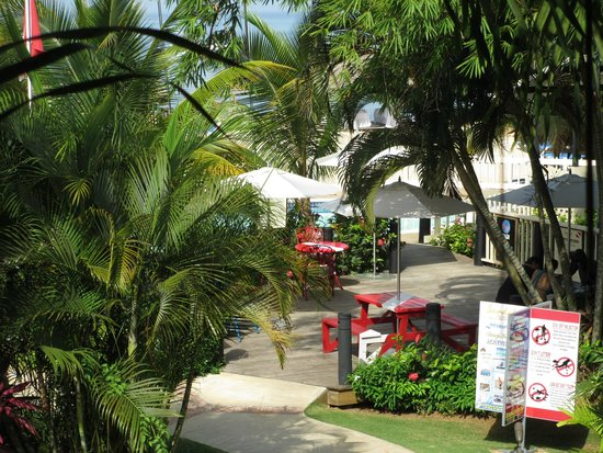 """Sandals Negril Beach Resort & Spa: One bedroom Millionaire Penthouse Oceanview suite - """"Oceanview"""" from the balcony...."""