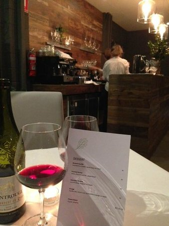 Mornington, Australia: Dining at Quercus Restaurant