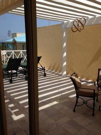 Royal Hideaway Playacar : Duplex suite balcony off bedroom