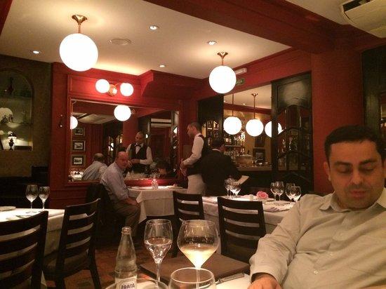 Chef Rouge : Uma das salas