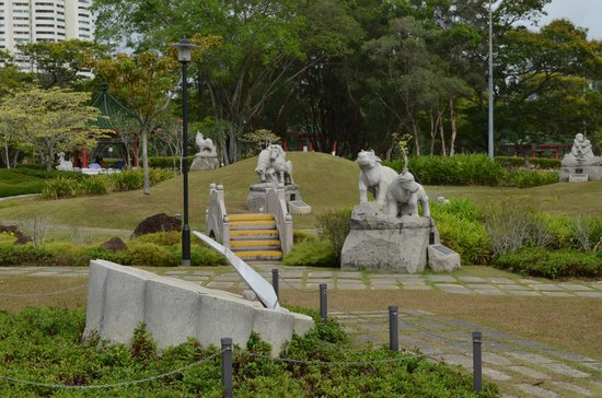 Chinese And Japanese Gardens: Zodiac Garden At The Park