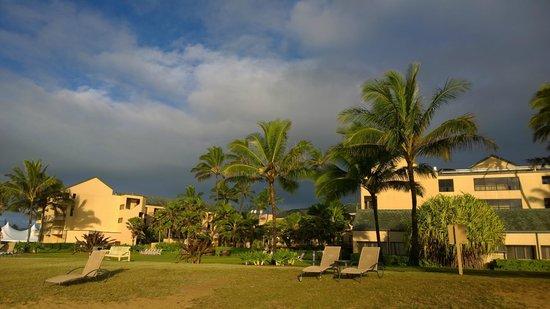 Courtyard Kaua'i at Coconut Beach : View from Beach