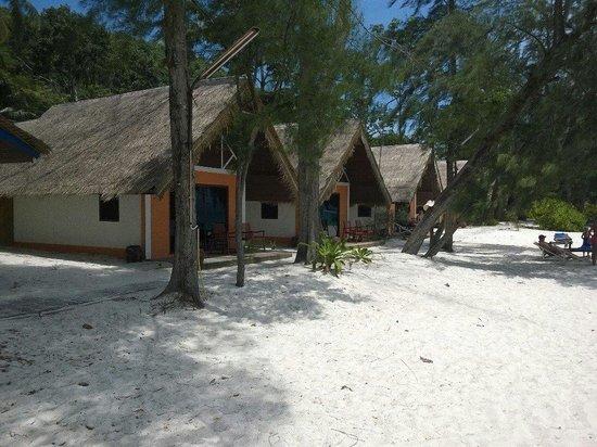 Coral Island Resort: Домик, где мы жили