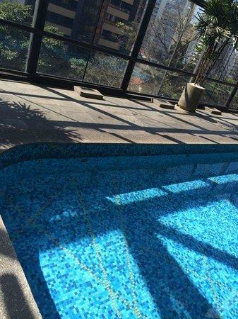 Maksoud Plaza : Piscina aquecida e coberta