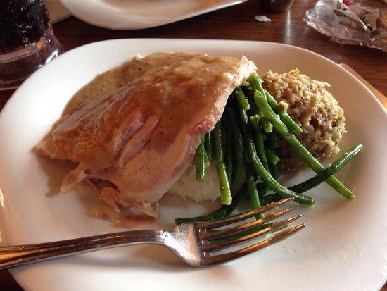 Liberty Tree Tavern: Pilgrim's Feast- yummy