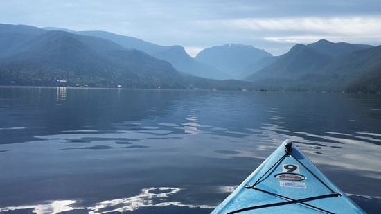Mountain Paddlers: Morning Paddle, 57° in July - Does it get any better?