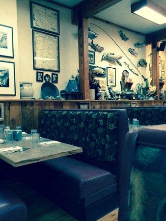 Outpost Restaurant : Outpost interior