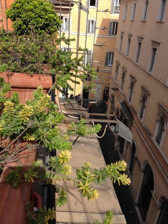 Albergo Santa Chiara: Picture from our balcony
