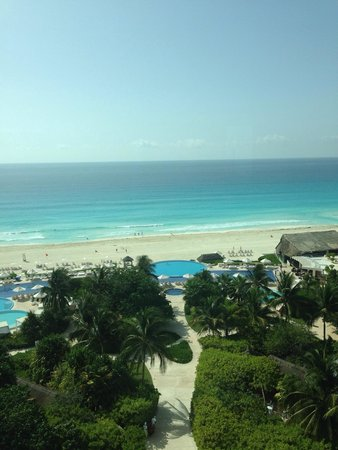 Live Aqua Cancun All Inclusive: Foto da suite Aqua Club, no 5 andar.