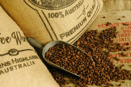 Mareeba, Australia: over 40 beans and blends roasted onsite
