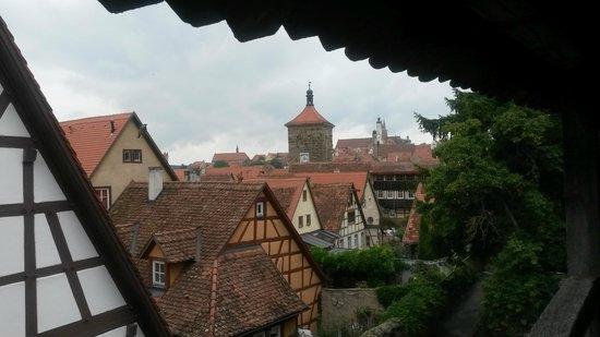 Historiengewölbe mit Staatsverlies: Vista da cidade
