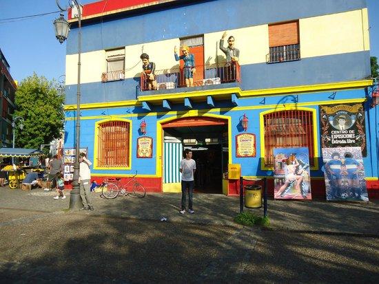 Calle Museo Caminito: comercio em caminito