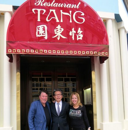 With the Gracious Owner. Charlie Tang...