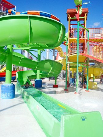 Coco Key Hotel and Water Park Resort: Slides
