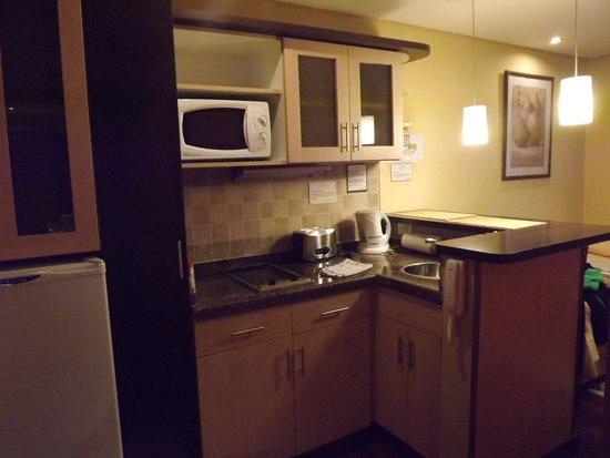 Ankara Suites: Cocina