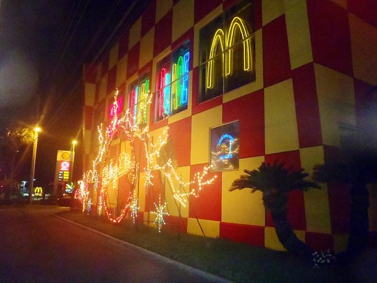 McDonald's: All lit up for the holidays