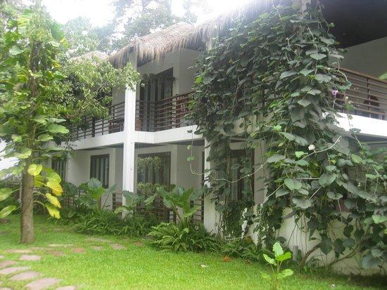 Natura Resort : vue des chambres