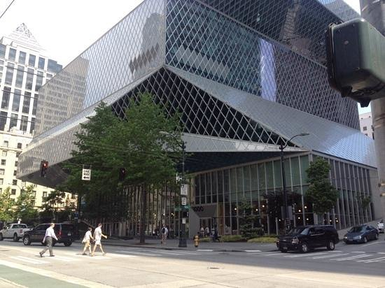 Seattle Public Library: cool