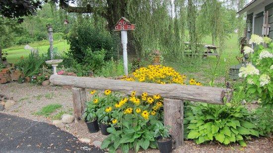 Inn At The Ridge: The garden