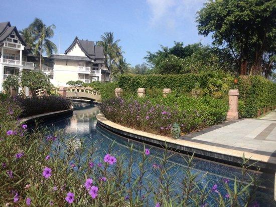 Angsana Laguna Phuket: The pool that snakes through the resort
