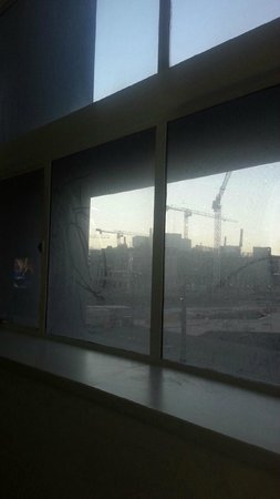 Adelaide Riviera Hotel: Windows could have done with a clean ...