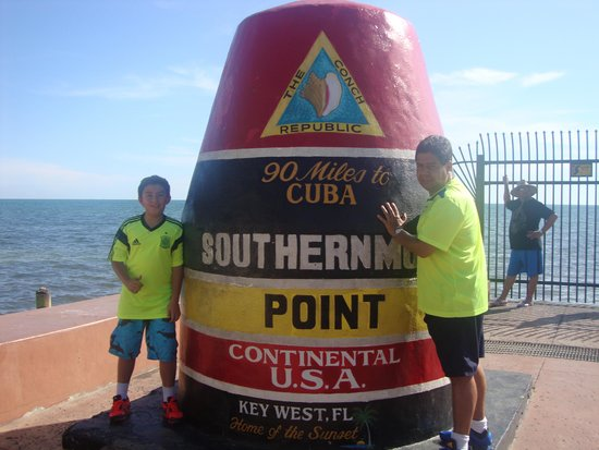 Southernmost Point: Foto para recordar