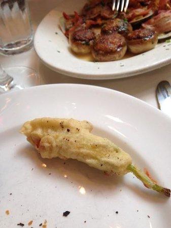 Becco : stuffed zucchini