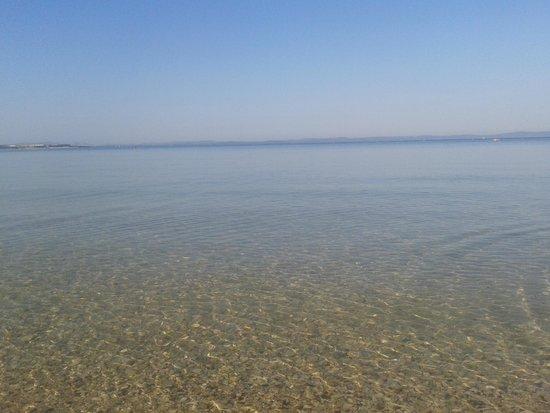 Zaton Holiday Resort: morning sea