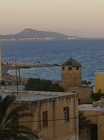 Ibiscus Hotel: View from balcony of room 411