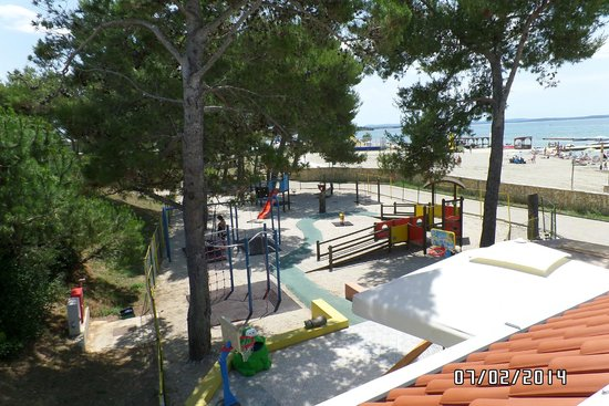 Zaton Holiday Resort: playground near kids club area