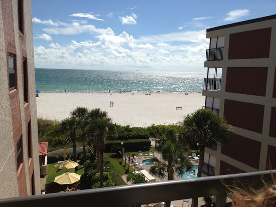 Gulf Gate Resort: Our view from the balcony from 404