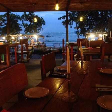 KOKi Beach Restaurant & Bar : Koki Beach at sunset