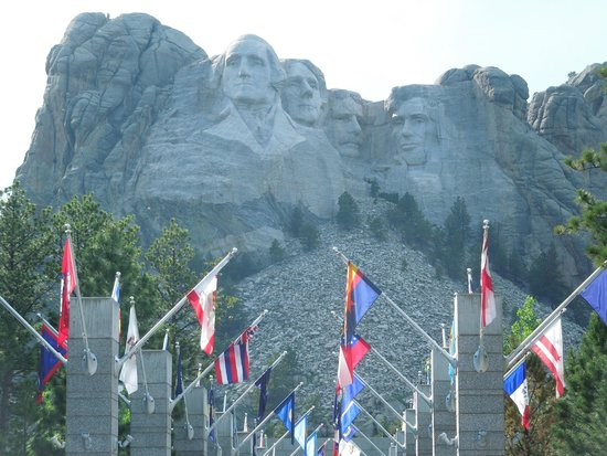 Mount Rushmore National Memorial: Mt. Rushmore Fourth Of July