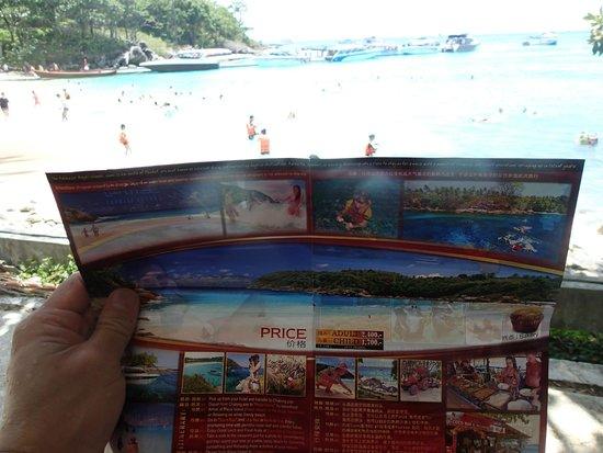 Koh Racha Yai: where the vast clean sandy beach ?