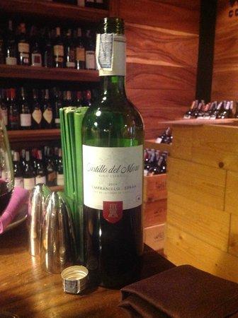 SO Sofitel Bangkok: Great Spanish wine