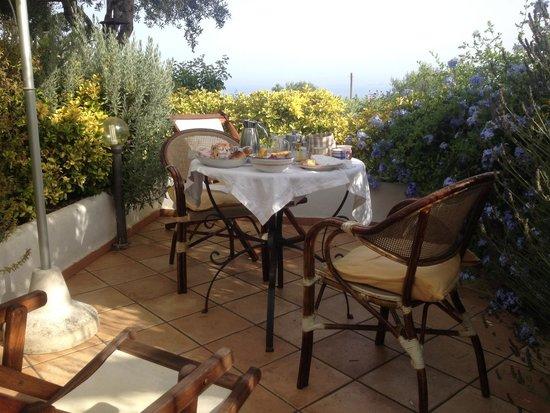 Il Giardino dell'Arte: Private terrace solitude