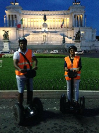 Italy Segway Tours: Modern day chariots!